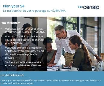Plan Your S/4 avec CENSIO